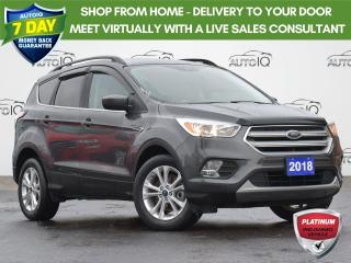 Used 2018 Ford Escape SE | FWD | HEATED SEATS | ONE OWNER |  LOW KMS | for sale in Waterloo, ON