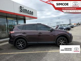 Used 2018 Toyota RAV4 AWD SE  - Certified - Navigation for sale in Simcoe, ON