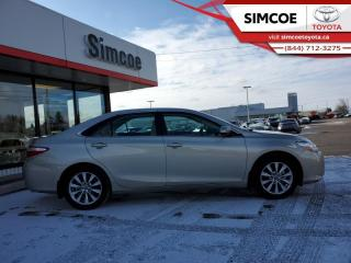 Used 2015 Toyota Camry XLE  - Sunroof -  Navigation for sale in Simcoe, ON