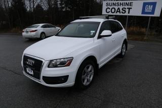Used 2012 Audi Q5 2.0T Premium for sale in Sechelt, BC