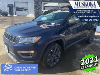 Used 2021 Jeep Compass 80th Anniversary  - Sunroof for sale in Bracebridge, ON