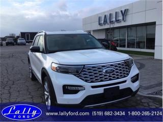 New 2021 Ford Explorer Platinum for sale in Tilbury, ON