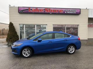 Used 2019 Chevrolet Cruze LT BACK UP CAM for sale in Tilbury, ON
