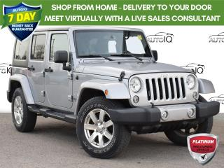 Used 2016 Jeep Wrangler Unlimited Sahara Trail Rated for sale in St. Thomas, ON