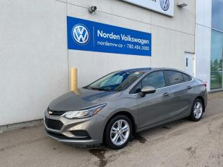Used 2018 Chevrolet Cruze LT - Auto/Heated Seats for sale in Edmonton, AB