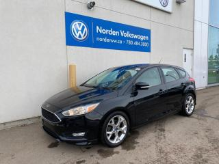 Used 2015 Ford Focus Hatchback SE - Crazy low kms! Backup Cam/AC/Automatic for sale in Edmonton, AB