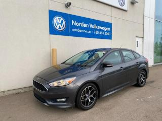 Used 2016 Ford Focus SE - Upgraded wheels/Low kms/Manual for sale in Edmonton, AB