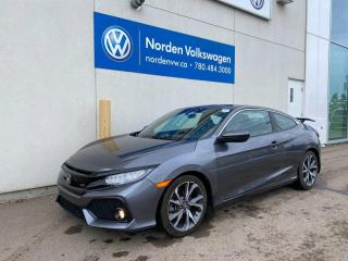 Used 2018 Honda Civic COUPE Si - Manual/Navi/Sunroof/Htd Seats for sale in Edmonton, AB