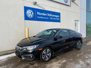 Used 2017 Honda Civic COUPE EX-T 6-SPD M/T - HTD SEATS / SUNROOF for sale in Edmonton, AB