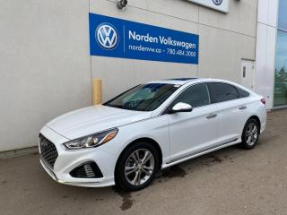 Used 2018 Hyundai Sonata Sport - Leather/Sunroof/Driver Assist for sale in Edmonton, AB