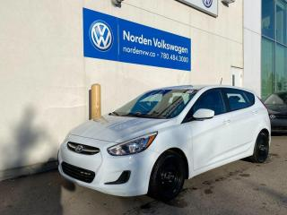 Used 2017 Hyundai Accent Manual - Hatchback! for sale in Edmonton, AB