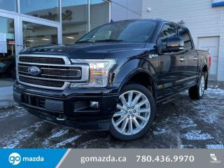 Used 2019 Ford F-150 Limited - 3.5L ECOBOOST, FULL JAM, MASSAGE SEATS, EXTREMELY LOW KMS! THIS TRUCK RIDES LIKE A DREAM! for sale in Edmonton, AB