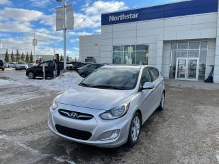 Used 2013 Hyundai Accent GLS MANUAL/SUNROOF/HEATEDSEATS/BLUETOOTH for sale in Edmonton, AB