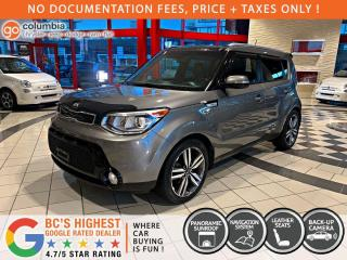 Used 2015 Kia Soul SX - Local / Collision Free / Nav / Pano Sunroof for sale in Richmond, BC
