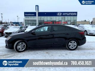 Used 2019 Hyundai Elantra PREFFERED/BLIND SPOT/HEATED SEATS/BACKUP CAM for sale in Edmonton, AB