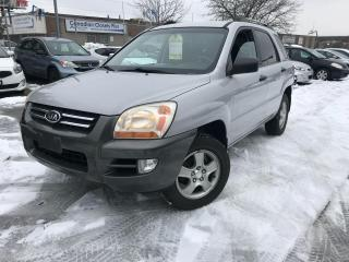 Used 2008 Kia Sportage 4 CYLINDERS ,SAFETY+3 YEARS WARRANTY INCLUDED for sale in Toronto, ON