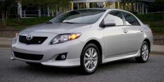 Used 2010 Toyota Corolla CE for sale in North Bay, ON
