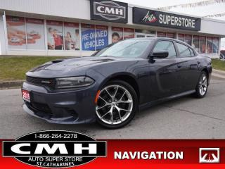 Used 2019 Dodge Charger GT  NAVI CAM BLIND-SPOT ROOF HTD-SEATS 20-AL for sale in St. Catharines, ON