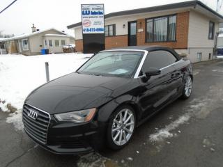 Used 2016 Audi A3 2.0T Technik for sale in Ancienne Lorette, QC