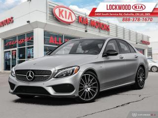 Used 2018 Mercedes-Benz C-Class AMG AMG C 43 4MATIC Sedan   CLEAN CARFAX   PREMIUM PKG for sale in Oakville, ON