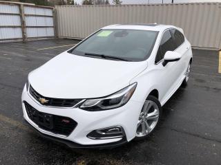 Used 2018 Chevrolet Cruze Premier HATCHBACK for sale in Cayuga, ON