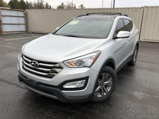 Used 2015 Hyundai Santa Fe LUXURY AWD for sale in Cayuga, ON