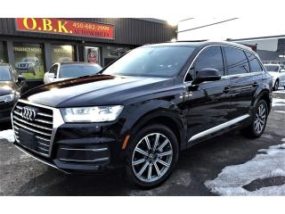 Used 2017 Audi Q7 TECHNIK-Quattro-3.0T-NAVIGATION-TOIT PANO-7 PASSA for sale in Laval, QC