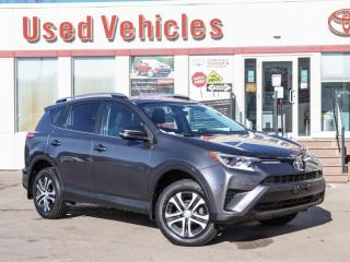 Used 2016 Toyota RAV4 LE YES WE ARE OPEN! CAMERA HEATED-SEATS 1-OWNER for sale in North York, ON