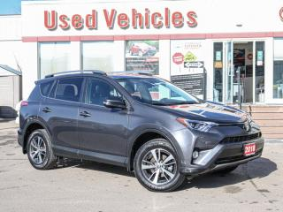 Used 2018 Toyota RAV4 XLE AWD ALLOYS SUNROOF BUTTON-START REV-CAMERA for sale in North York, ON