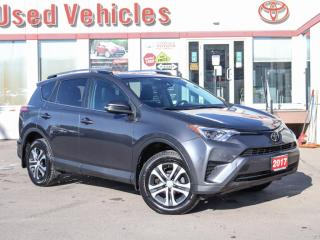 Used 2017 Toyota RAV4 LE  CAMERA HEATED-SEATS 1-OWNER for sale in North York, ON