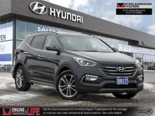 Used 2017 Hyundai Santa Fe Sport SE  - Sunroof -  Heated Seats - $177 B/W for sale in Nepean, ON