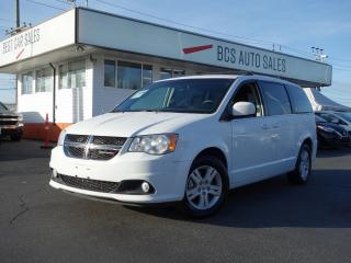 Used 2018 Dodge Grand Caravan Crew for sale in Vancouver, BC