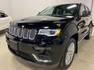 Used 2017 Jeep Grand Cherokee Summit 5.7L,ADAPTIVE CRUISE, NAV, PANO ROOF, AND MORE!! for sale in Calgary, AB