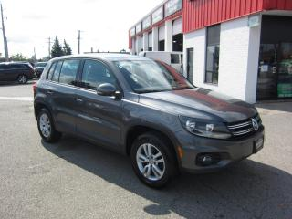 Used 2013 Volkswagen Tiguan Comfortline $10,995+HST+LIC FEE / CERTIFIED / LEATHER / SUNROOF for sale in North York, ON