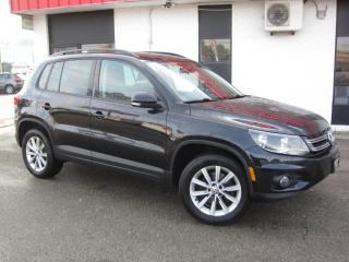 Used 2014 Volkswagen Tiguan Highline $11,995+HST+LIC FEE / ALL WHEEL DRIVE / CERTIFIED / CLEAN CARFAX for sale in North York, ON