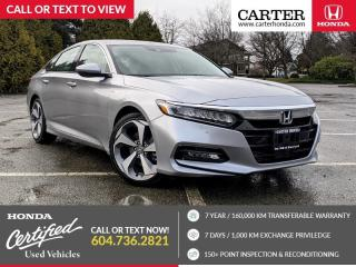Used 2018 Honda Accord Touring NAVIGATION + HEADS-UP DISPLAY + HEATED STEERING WHEEL for sale in Vancouver, BC