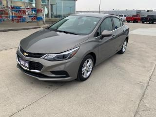 Used 2018 Chevrolet Cruze LT for sale in Tilbury, ON