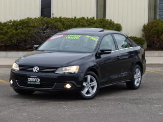 Used 2011 Volkswagen Jetta HIGHLINE,LEATHER,LOADED,NO-ACCIDENT,CERTIFIED, for sale in Mississauga, ON