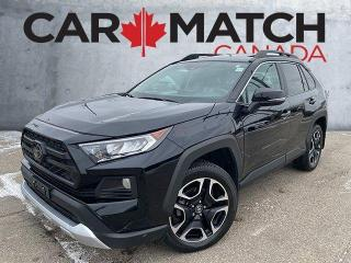 Used 2019 Toyota RAV4 TRAIL / AWD / LEATHER / NO ACCIDENTS for sale in Cambridge, ON
