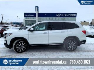 Used 2019 Honda Pilot TOURING 8 PASS/DVD/BLIND SPOT/NAV for sale in Edmonton, AB