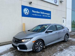 Used 2017 Honda Civic Hatchback LX - HTD SEATS / REVERSE CAM / BLUETOOTH for sale in Edmonton, AB