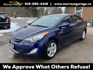 Used 2012 Hyundai Elantra GLS for sale in Guelph, ON