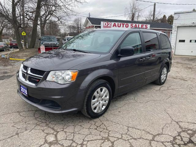 2018 Dodge Grand Caravan SXT/Stow'N'Go/7 Passenger/Bluetooth/Certified