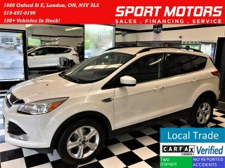 Used 2015 Ford Escape SE+Camera+Heated Seats+Bluetooth+ACCIDENT FREE for sale in London, ON