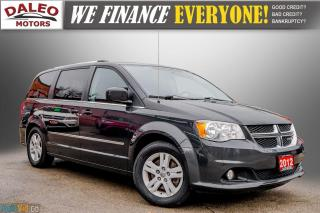 Used 2012 Dodge Grand Caravan CREW / 7 PASSENGERS / LOW KMS / CLEAN for sale in Hamilton, ON