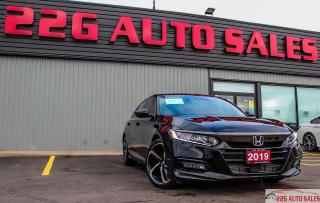 Used 2019 Honda Accord Sport|ACCIDENT FREE\BACKUP CAM|SUNROOF| for sale in Brampton, ON