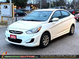Used 2012 Hyundai Accent GL|NO ACCIDENT|EXT. WARRANTY|CERTIFIED for sale in Oakville, ON