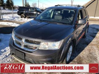Used 2015 Dodge Journey SXT 4D Utility 7PASS 2WD 2.4L for sale in Calgary, AB