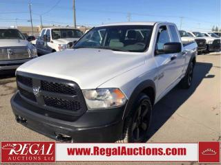 Used 2016 RAM 1500 ST Quad Cab 4WD 5.7L for sale in Calgary, AB