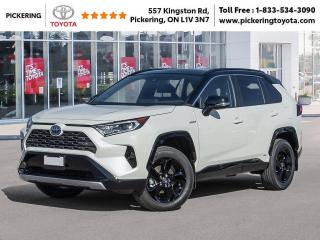 New 2021 Toyota RAV4 RAV4 Hybrid XLE AWD for sale in Pickering, ON